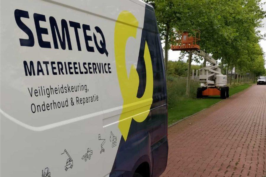 reparatie materieel op locatie of in onze werkplaats